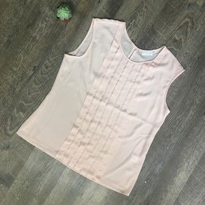 Pink New York & company top